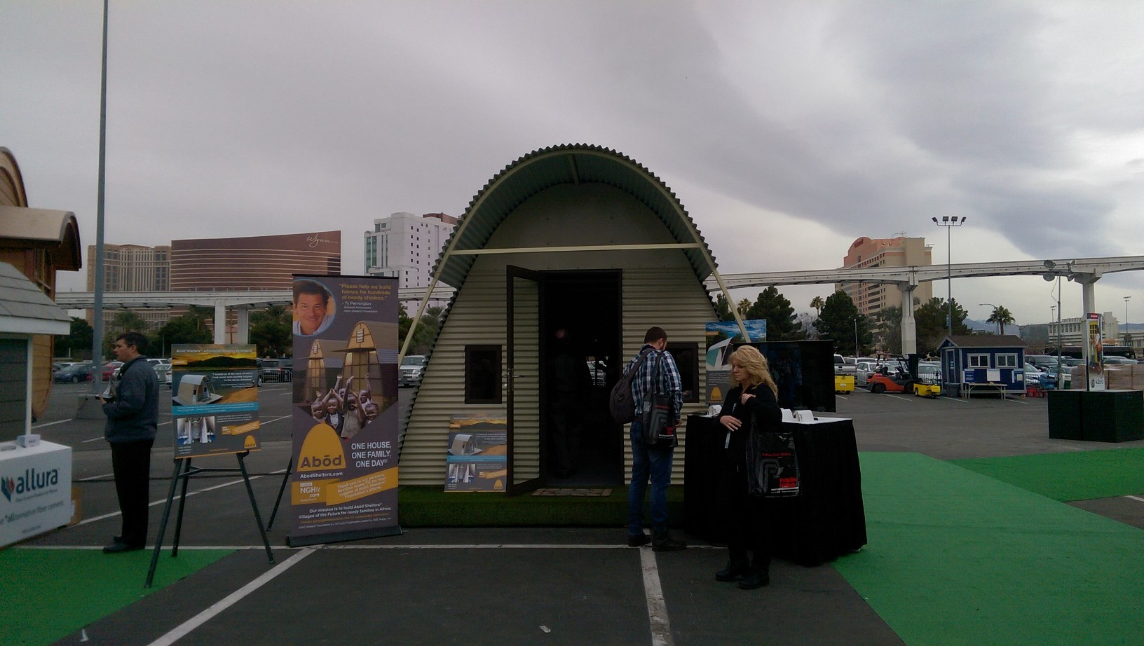 Ab D Shelters Was A Hit At 2016 International Builders