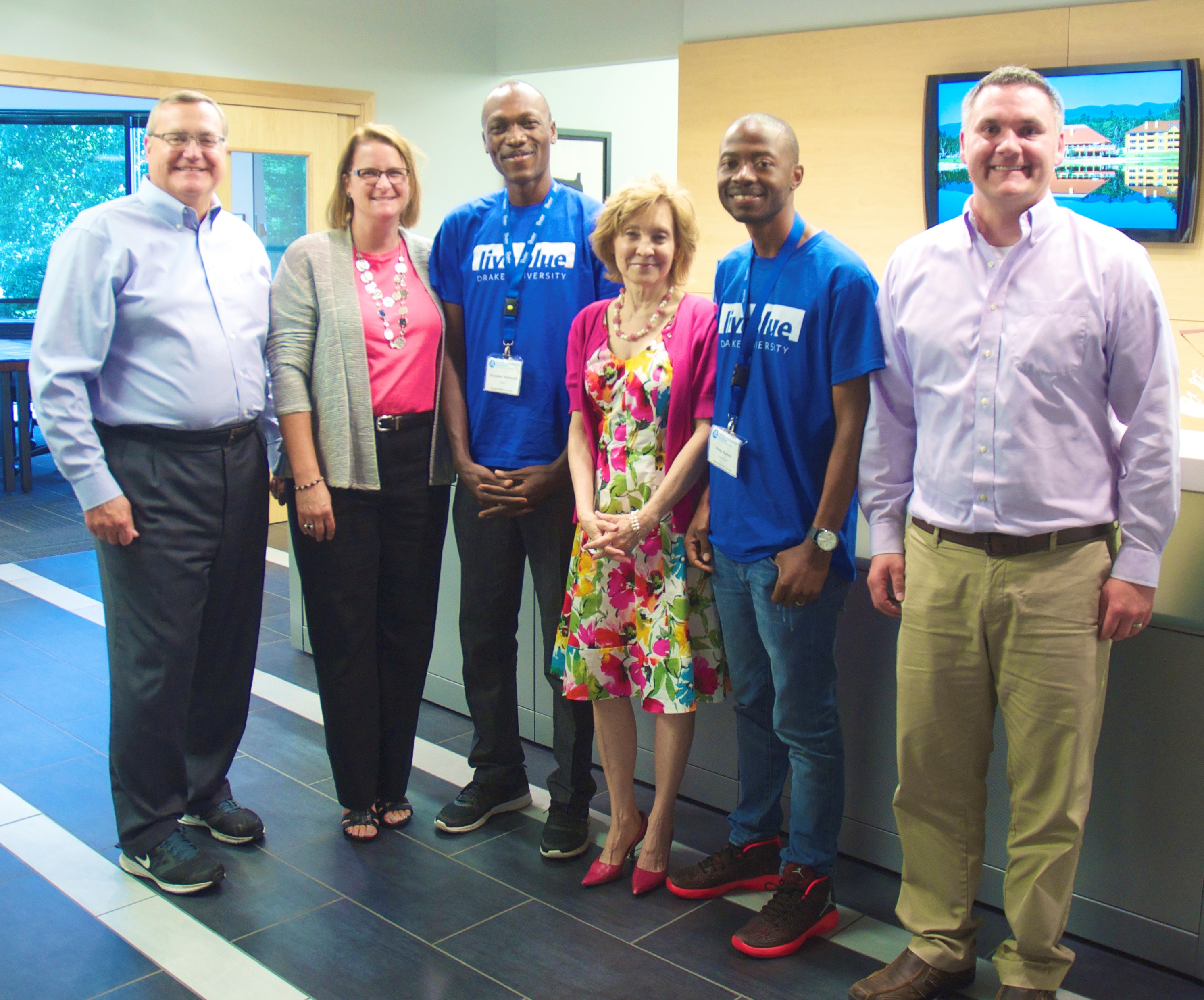 Mandela Washington Fellowship Recipients Visit Abōd Shelters® at BSB Design's Office