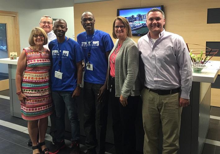 Mandela Washington Fellowship Visitors at BSB Design Office