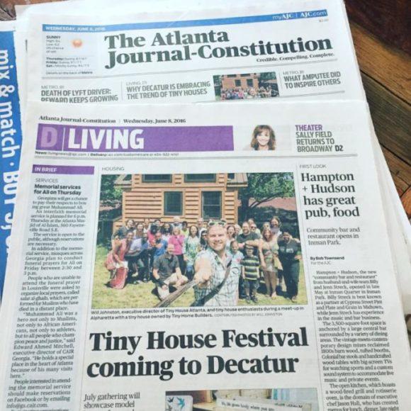 Will Johnston on 'Why Tiny Houses?' and Metro Atlanta's First Tiny House Festival