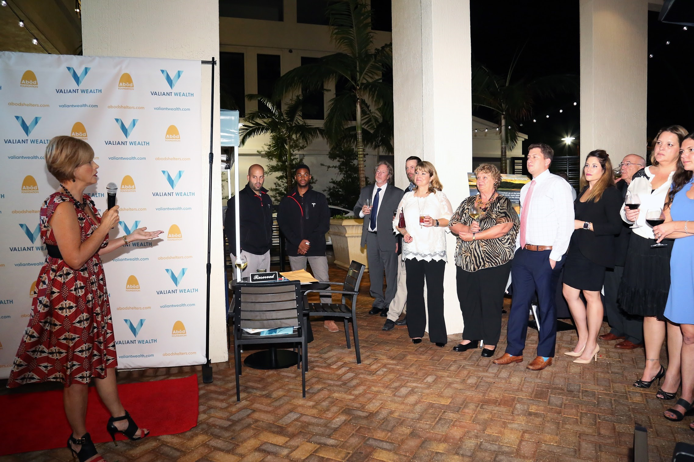 Abōd Shelters Foundation Debuts in Florida at Valiant Wealth Fundraiser