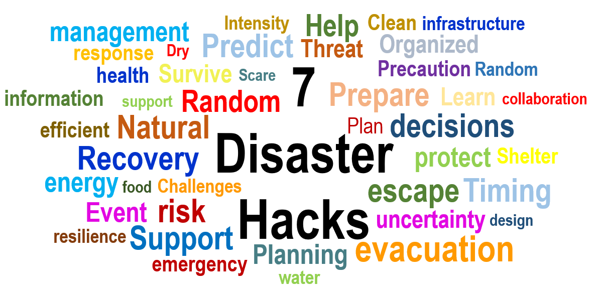 Be Prepared: 7 Disaster Hacks