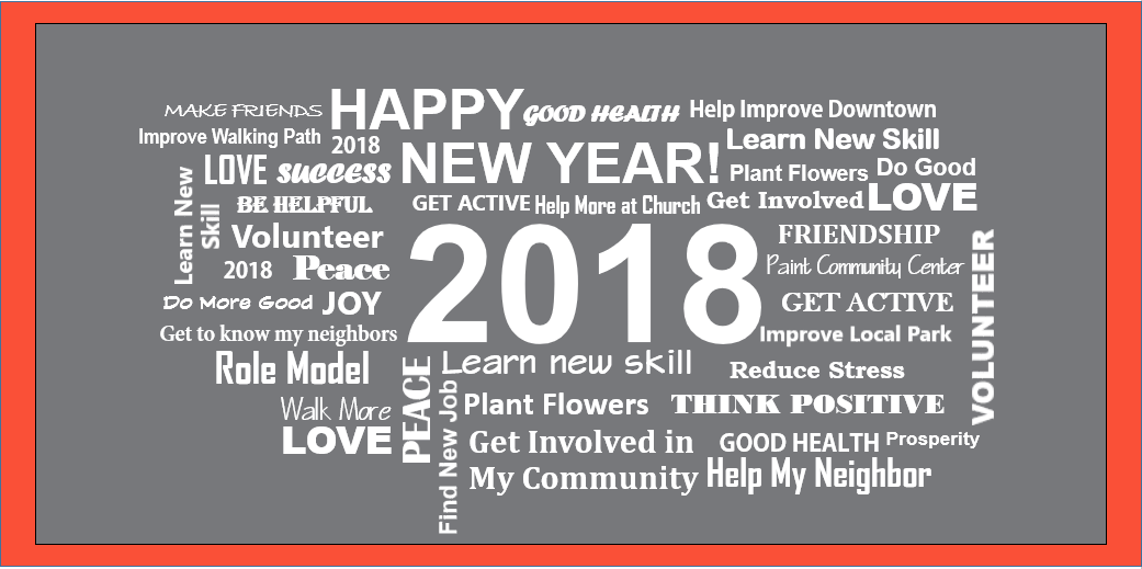 Resolve to Improve Your Community in 2018